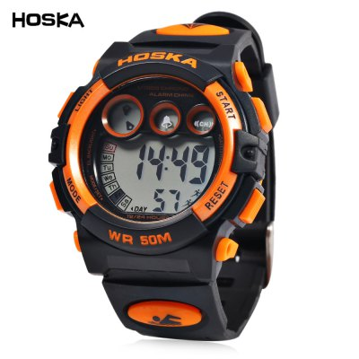 HOSKA H002B Children LED Digital Watch