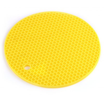 Round Honeycomb Silicone Pot Holders