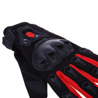 Paired Full Finger Motorcycle GlovesMotorcycle Gloves<br>Paired Full Finger Motorcycle Gloves<br><br>Gender: Unisex<br>Product weight: 0.130 kg<br>Package weight: 0.163 kg<br>Package Size(L x W x H): 31.50 x 15.00 x 4.00 cm / 12.4 x 5.91 x 1.57 inches<br>Package Contents: 1 x Paired Full Finger Motorcycle Gloves
