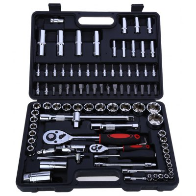 94pcs Socket Ratchet Wrench Set Combo Tools Kit for Auto Repairing