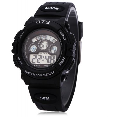 OTS 833 Children Multifunction LED Sport Digital Watch for Girl