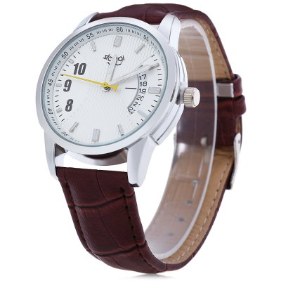 SLOGGI Women Quartz WatchWomens Watches<br>SLOGGI Women Quartz Watch<br><br>Band Length: 8.27<br>Band Length Unit: inch<br>Band Material Type: Leather<br>Band Width: 20mm<br>Case material: Alloy<br>Case Shape: Round<br>Clasp type: Pin buckle<br>Dial Diameter: 1.57<br>Dial Diameter Unit: inch<br>Dial Display: Analog<br>Dial Window Material Type: Glass<br>Feature: Date<br>Gender: Women<br>Movement: Quartz<br>Style: Simple<br>Water Resistance Depth: 30m<br>Product weight: 0.042 kg<br>Package weight: 0.069 kg<br>Product Size(L x W x H): 25.00 x 4.50 x 1.00 cm / 9.84 x 1.77 x 0.39 inches<br>Package Size(L x W x H): 26.00 x 5.50 x 2.00 cm / 10.24 x 2.17 x 0.79 inches<br>Package Contents: 1 x SLOGGI Women Quartz Watch