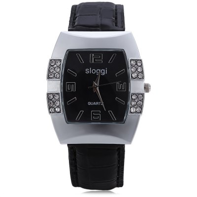 SLOGGI Women Quartz Tonneau Dial WatchWomens Watches<br>SLOGGI Women Quartz Tonneau Dial Watch<br><br>Band Length: 7.68<br>Band Length Unit: inch<br>Band Material Type: Leather<br>Band Width: 20mm<br>Case material: Alloy<br>Case Shape: Tonneau<br>Clasp type: Pin buckle<br>Dial Diameter: 1.3<br>Dial Diameter Unit: inch<br>Dial Display: Analog<br>Dial Window Material Type: Glass<br>Gender: Women<br>Movement: Quartz<br>Style: Simple<br>Product weight: 0.037 kg<br>Package weight: 0.058 kg<br>Product Size(L x W x H): 23.50 x 3.50 x 1.00 cm / 9.25 x 1.38 x 0.39 inches<br>Package Size(L x W x H): 24.50 x 4.50 x 2.00 cm / 9.65 x 1.77 x 0.79 inches<br>Package Contents: 1 x SLOGGI Women Quartz Tonneau Dial Watch