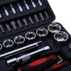 best 94pcs Socket Ratchet Wrench Set Combo Tools Kit for Auto Repairing