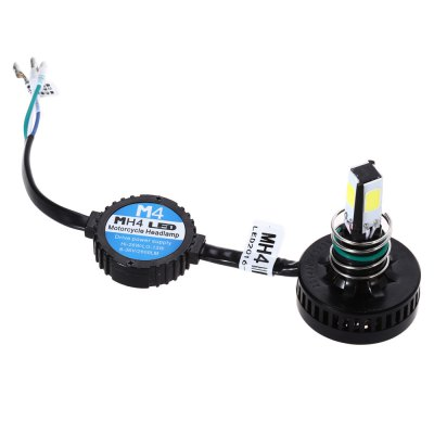 M4 2200LM 20W Ultra Bright Motorcycle LED Headlight Kit High / Low Beam