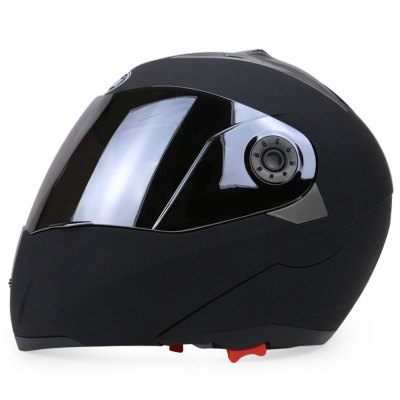 Full Face Street Bike Helmet Dual Visor with Silvering Visor