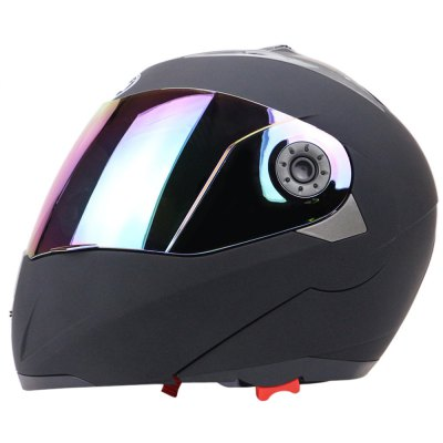 Full Face Colorful Shield Dual Visor Motorcycle Helmet