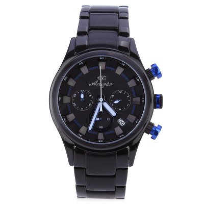 Angie ST7179 Vika Series Men Women Quartz WatchUnisex Watches<br>Angie ST7179 Vika Series Men Women Quartz Watch<br><br>Band Material Type: Stainless Steel<br>Band Width: 2cm<br>Case material: Stainless Steel<br>Case Shape: Round<br>Case Thickness: 10mm<br>Dial Diameter: 4.2cm<br>Dial Display: Analog<br>Dial Window Material Type: Sapphire<br>Feature: Auto Date,Complete Calendar,Luminous<br>Gender: Men,Women<br>Movement: Quartz<br>Style: Business,Fashion &amp; Casual<br>Water Resistance Depth: 30m<br>Product weight: 0.160 kg<br>Package weight: 0.182 kg<br>Product Size(L x W x H): 11.00 x 4.50 x 2.00 cm / 4.33 x 1.77 x 0.79 inches<br>Package Size(L x W x H): 12.00 x 5.50 x 3.00 cm / 4.72 x 2.17 x 1.18 inches<br>Package Contents: 1 x Watch