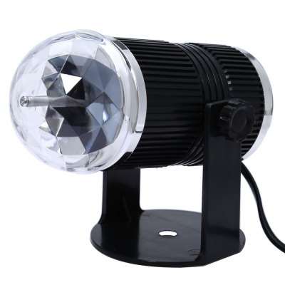 Sound Activated LED Crystal Stage LightStage Lighting<br>Sound Activated LED Crystal Stage Light<br><br>Occasion: Home Entertainment,Professional Stage &amp; DJ<br>Style: DMX Stage Light,Mini<br>Product weight: 0.225 kg<br>Package weight: 0.294 kg<br>Product Size(L x W x H): 17.00 x 8.50 x 8.50 cm / 6.69 x 3.35 x 3.35 inches<br>Package Size(L x W x H): 18.40 x 9.50 x 9.50 cm / 7.24 x 3.74 x 3.74 inches<br>Package Contents: 1 x Sound Activated LED Crystal Stage Light