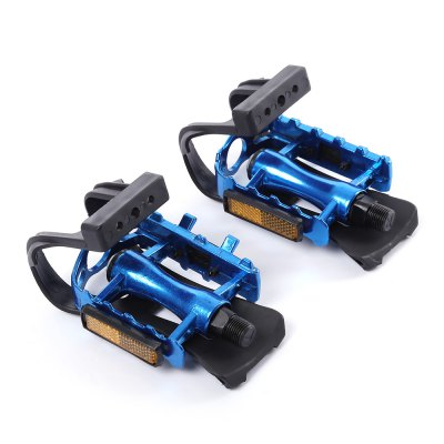 Gear Bike Bicycle Fixed Pedal Binding Belt Toe Straps Foot Clip
