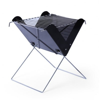 26 x 25cm Folding X Shape BBQ Charcoal Grill
