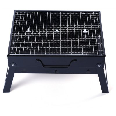 Folding Portable Iron BBQ Charcoal Grill