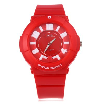 OTS 238 Women Quartz WatchWomens Watches<br>OTS 238 Women Quartz Watch<br><br>Band Length: 9.05 inch<br>Band Material Type: PU<br>Band Width: 22 mm<br>Case material: PC<br>Case Shape: Round<br>Clasp type: Pin Buckle<br>Dial Diameter: 1.18 inch<br>Dial Display: Analog<br>Dial Window Material Type: Glass<br>Gender: Women<br>Movement: Quartz<br>Style: Simple<br>Water Resistance Depth: 50m<br>Product weight: 0.034 kg<br>Package weight: 0.055 kg<br>Product Size(L x W x H): 23.00 x 4.50 x 1.30 cm / 9.06 x 1.77 x 0.51 inches<br>Package Size(L x W x H): 24.00 x 5.50 x 2.30 cm / 9.45 x 2.17 x 0.91 inches<br>Package Contents: 1 x OTS 238 Women Quartz Watch