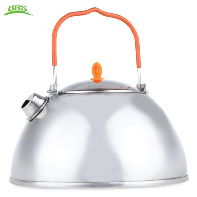 BRS - TS07 800ML Stainless Steel Camping Teapot Outdoor Coffee Pot