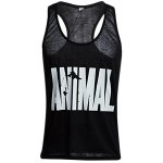 cheap ANIMAL Print Scoop Collar Sleeveless Cotton Men Gym Tank