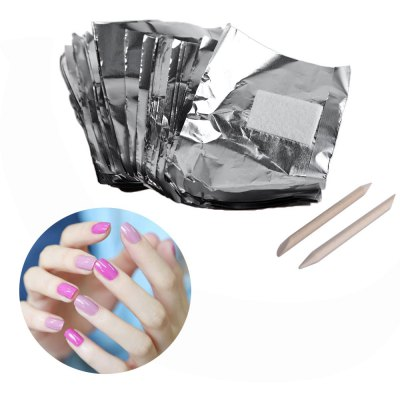 Nail Gel Removable Foil Cotton Manicure Resurrection Supplies
