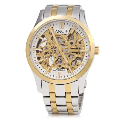 Angie ST7183L Frederis Series Women Automatic Wind Mechanical WatchWomens Watches<br>Angie ST7183L Frederis Series Women Automatic Wind Mechanical Watch<br><br>Band Length: 5.91 inch<br>Band Material Type: Stainless Steel<br>Band Width: 16mm<br>Case material: Stainless Steel<br>Case Shape: Round<br>Clasp type: Folding Clasp with Safety<br>Dial Diameter: 1.34 inch<br>Dial Display: Analog<br>Dial Window Material Type: Sapphire<br>Feature: Luminous<br>Gender: Women<br>Movement: Automatic Self-Wind<br>Style: Simple<br>Water Resistance Depth: 50m<br>Product weight: 0.086 kg<br>Package weight: 0.108 kg<br>Product Size(L x W x H): 15.00 x 3.80 x 1.00 cm / 5.91 x 1.5 x 0.39 inches<br>Package Size(L x W x H): 8.50 x 4.80 x 2.00 cm / 3.35 x 1.89 x 0.79 inches<br>Package Contents: 1 x Angie ST7183L Frederis Series Women Automatic Wind Mechanical Watch