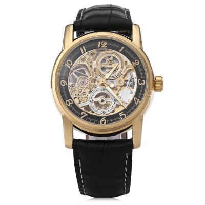 FORSINING F042601 Male Automatic Mechanical WatchMens Watches<br>FORSINING F042601 Male Automatic Mechanical Watch<br><br>Band Length: 8.27 inch<br>Band Material Type: Leather<br>Band Width: 22mm<br>Case material: Stainless Steel<br>Case Shape: Round<br>Clasp type: Pin Clasp<br>Dial Diameter: 1.5 inch<br>Dial Display: Analog<br>Dial Window Material Type: Hardlex<br>Feature: Luminous<br>Gender: Men<br>Movement: Automatic Self-Wind<br>Style: Business<br>Water Resistance Depth: 10m<br>Product weight: 0.060 kg<br>Package weight: 0.082 kg<br>Product Size(L x W x H): 25.50 x 4.20 x 1.20 cm / 10.04 x 1.65 x 0.47 inches<br>Package Size(L x W x H): 26.50 x 5.20 x 2.20 cm / 10.43 x 2.05 x 0.87 inches<br>Package Contents: 1 x FORSINING F042601 Male Automatic Mechanical Watch