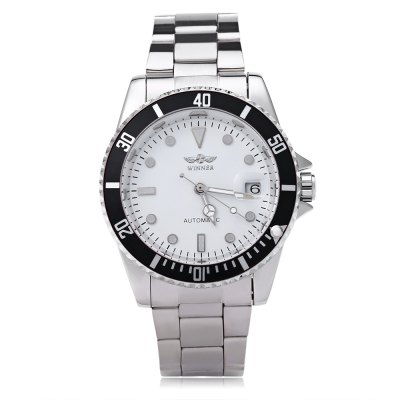 WINNER W042602 Male Automatic Mechanical WatchMens Watches<br>WINNER W042602 Male Automatic Mechanical Watch<br><br>Band Length: 8.27 inch<br>Band Material Type: Stainless Steel<br>Band Width: 18mm<br>Case material: Alloy<br>Case Shape: Round<br>Clasp type: Folding Clasp with Safety<br>Dial Diameter: 1.57 inch<br>Dial Display: Analog<br>Dial Window Material Type: Hardlex<br>Feature: Date,Luminous<br>Gender: Men<br>Movement: Automatic Self-Wind<br>Style: Business,Sport<br>Water Resistance Depth: 10m<br>Product weight: 0.107 kg<br>Package weight: 0.129 kg<br>Product Size(L x W x H): 21.00 x 4.50 x 1.50 cm / 8.27 x 1.77 x 0.59 inches<br>Package Size(L x W x H): 11.50 x 5.50 x 2.50 cm / 4.53 x 2.17 x 0.98 inches<br>Package Contents: 1 x WINNER W042602 Male Automatic Mechanical Watch