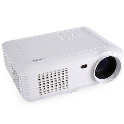 POWERFUL SV - 228 4000 Lumens 1280 ? 800 Pixels Multimedia LCD Projector