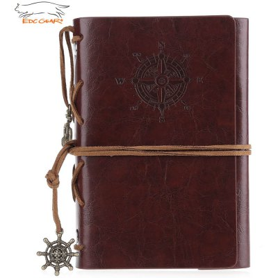 EDCGEAR Retro Leather Notebook Notepad Tactical Field Book