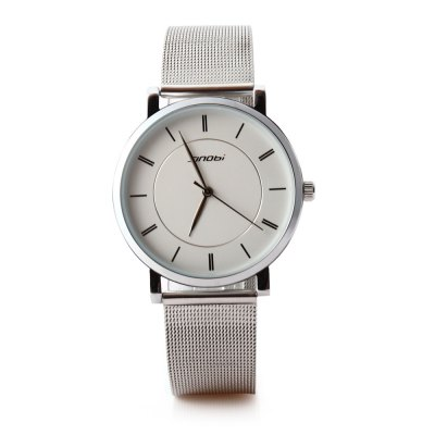 SINOBI 9600G Men Quartz WatchMens Watches<br>SINOBI 9600G Men Quartz Watch<br><br>Band Length: 7.68 inch<br>Band Material Type: Stainless Steel<br>Band Width: 18mm<br>Case material: Alloy<br>Case Shape: Round<br>Clasp type: Hook Buckle<br>Dial Diameter: 1.57 inch<br>Dial Display: Analog<br>Dial Window Material Type: Glass<br>Gender: Men<br>Movement: Quartz<br>Style: Business,Dress,Simple,Sport<br>Water Resistance Depth: 30m<br>Product weight: 0.054 kg<br>Package weight: 0.078 kg<br>Product Size(L x W x H): 23.50 x 4.20 x 0.50 cm / 9.25 x 1.65 x 0.2 inches<br>Package Size(L x W x H): 24.50 x 5.20 x 1.50 cm / 9.65 x 2.05 x 0.59 inches<br>Package Contents: 1 x SINOBI 9600G Men Quartz Watch