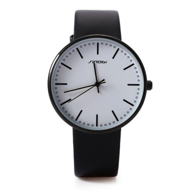 SINOBI 9601G Men Quartz WatchMens Watches<br>SINOBI 9601G Men Quartz Watch<br><br>Band Length: 7.59 inch<br>Band Material Type: Leather<br>Band Width: 18mm<br>Case material: Alloy<br>Case Shape: Round<br>Clasp type: Pin Buckle<br>Dial Diameter: 1.57 inch<br>Dial Display: Analog<br>Dial Window Material Type: Glass<br>Gender: Men<br>Movement: Quartz<br>Style: Business,Dress,Simple,Sport<br>Water Resistance Depth: 30m<br>Product weight: 0.034 kg<br>Package weight: 0.059 kg<br>Product Size(L x W x H): 23.50 x 4.30 x 0.60 cm / 9.25 x 1.69 x 0.24 inches<br>Package Size(L x W x H): 24.50 x 5.30 x 1.60 cm / 9.65 x 2.09 x 0.63 inches<br>Package Contents: 1 x SINOBI 9601G Men Quartz Watch