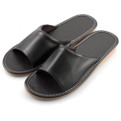 Slippers Lovers Home Furnishing Indoor Floor Haining Leather Classic Footwear