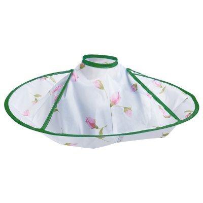 Children Kids Hair-Cutting Cloak Gown Salon Hairdresser Haircut Bib Apron