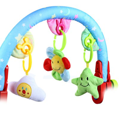 Baby Stroller Hanging Rattles Mobile Toy with Sound