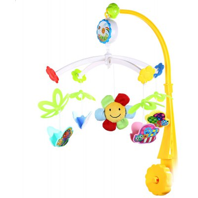 Cute Baby Musical Rotating Mobile Rattle Toy