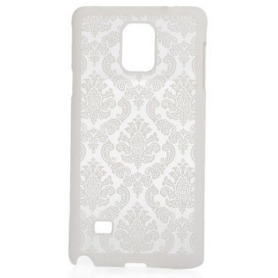 Luxury Vintage Flower Pattern Phone Cover Protective Skin for Samsung Note 4