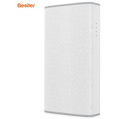 Besiter Safari 2 4000mAh Dual Output Portable Rechargeable Battery Power Bank