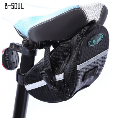 B-SOUL Bicycle Bike Strap-on Seat Pack Saddle Bag