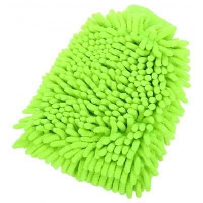 T17241 Car Double Side Premium Chenille Wash Mitt