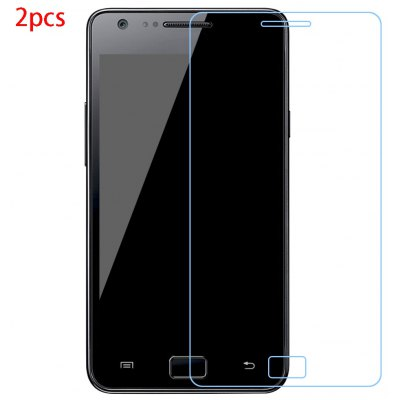 2pcs Tempered Glass Film for Samsung S2
