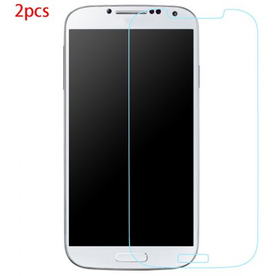 2pcs Tempered Glass Film for Samsung S4
