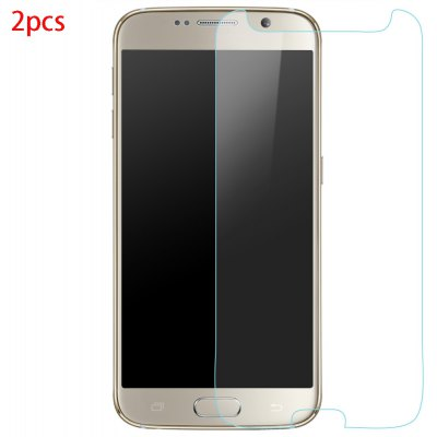 2pcs Tempered Glass Film for Samsung S6