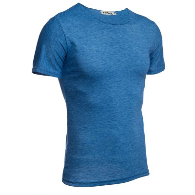 Casual Round Collar Short Sleeve Solid Color Cotton Blend Men T-ShirtMens Short Sleeve Tees<br>Casual Round Collar Short Sleeve Solid Color Cotton Blend Men T-Shirt<br><br>Collar: Round Neck<br>Fabric Type: Broadcloth<br>Material: Cotton Blends, Polyester<br>Package Contents: 1 x T-Shirt<br>Pattern Type: Solid<br>Sleeve Length: Short<br>Style: Casual<br>Weight: 0.207kg