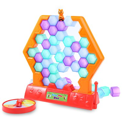 Baby Save Bee Block Game ToyOther Educational Toys<br>Baby Save Bee Block Game Toy<br><br>Feature: Educational<br>Age Range: &gt; 3 years old<br>Classification: Assemblage<br>Gender: Unisex<br>Material: Plastic<br>Product weight: 0.240 kg<br>Package weight: 0.550 kg<br>Package Size(L x W x H): 27.00 x 7.00 x 27.00 cm / 10.63 x 2.76 x 10.63 inches<br>Package Contents: 1 x Block Game Toy