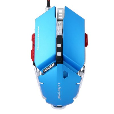 LUOM G50 Programmable 10 Button Professional Mechanical Gaming Mouse