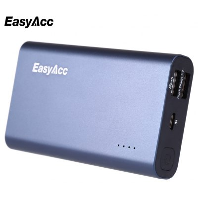 EasyAcc PB10000QC3 Qualcomn Certificated Power Bank