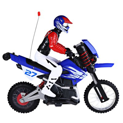 HUANQI 528 35MHz Off-road Radio Control RC MotorcycleRC Cars<br>HUANQI 528 35MHz Off-road Radio Control RC Motorcycle<br><br>Age Range: &gt; 14 Years old<br>Charging Voltage: 9.6V<br>Control Channels: 2 Channels<br>Controller Mode: MODE2<br>Design: Motorcycles<br>Material: ABS,TEP<br>Remote Control: Yes<br>Product weight: 1.208 kg<br>Package weight: 2.100 kg<br>Product Size(L x W x H): 35.00 x 15.80 x 14.90 cm / 13.78 x 6.22 x 5.87 inches<br>Package Size(L x W x H): 48.50 x 17.00 x 38.00 cm / 19.09 x 6.69 x 14.96 inches<br>Package Contents: 1 x RC Motorcycle, 1 x Transmitter, 1 x Charger, 1 x Remote Antenna, 1 x 9.6V 800mAh Ni-MH Battery, 2 x Turn Support Piece, 1 x English User Manual