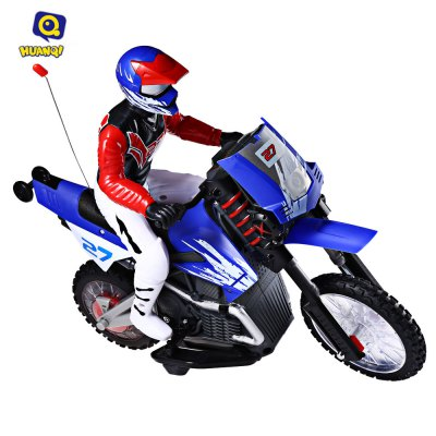 HUANQI 528 35MHz Motor Off-road Radio Control Motorcycle