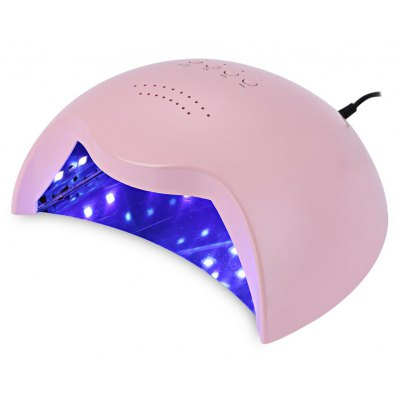 42W LED Automatic Light Phototherapy Slide Type + UV Manicure Nail Art Power Lamp
