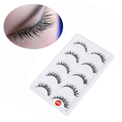 5 Pairs Makeup False Eyelashes