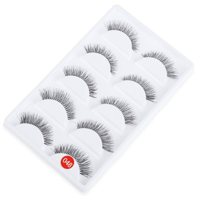 5 Pairs Hand Made Crossover Design Professional Thick Makeup Fake EyelashesEye Makeup<br>5 Pairs Hand Made Crossover Design Professional Thick Makeup Fake Eyelashes<br><br>False Eyelashe Length: 1cm-1.5cm<br>False Eyelash Craft: Hand Made<br>False Eyelash Type: Individual Lashes<br>False Eyelash Style: Thick<br>Length: 12mm<br>Product weight: 0.014 kg<br>Package weight: 0.030 kg<br>Package size (L x W x H): 15.00 x 9.00 x 1.00 cm / 5.91 x 3.54 x 0.39 inches<br>Package Content: 1 x Box False Eyelashes (5 Pairs)