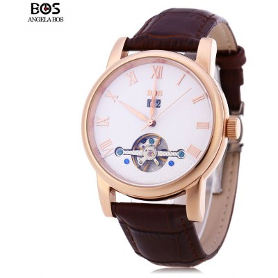 Angela Bos 9005G Men Automatic Wind Mechanical Watch