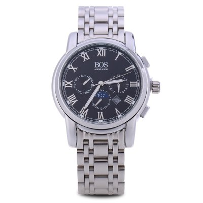 Angela Bos 8008G Men Quartz WatchMens Watches<br>Angela Bos 8008G Men Quartz Watch<br><br>Band Length: 8.66 inch<br>Band Material Type: Stainless Steel<br>Band Width: 20mm<br>Case material: Stainless Steel<br>Case Shape: Round<br>Clasp type: Butterfly Clasp<br>Dial Diameter: 1.57 inch<br>Dial Display: Analog<br>Dial Window Material Type: Sapphire<br>Feature: Date<br>Gender: Men<br>Movement: Quartz<br>Style: Business<br>Water Resistance Depth: 50m<br>Product weight: 0.135 kg<br>Package weight: 0.157 kg<br>Product Size(L x W x H): 22.00 x 4.50 x 1.50 cm / 8.66 x 1.77 x 0.59 inches<br>Package Size(L x W x H): 12.00 x 5.50 x 2.50 cm / 4.72 x 2.17 x 0.98 inches<br>Package Contents: 1 x Angela Bos 8008G Men Quartz Watch