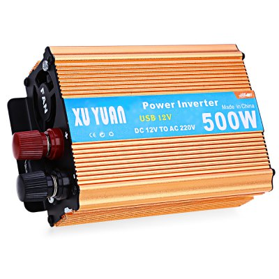 500W DC 12V to AC 220V Car Power Inverter